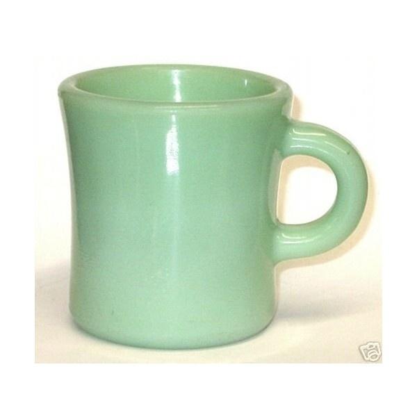 Vintage Jadite coffee mug...LOVE