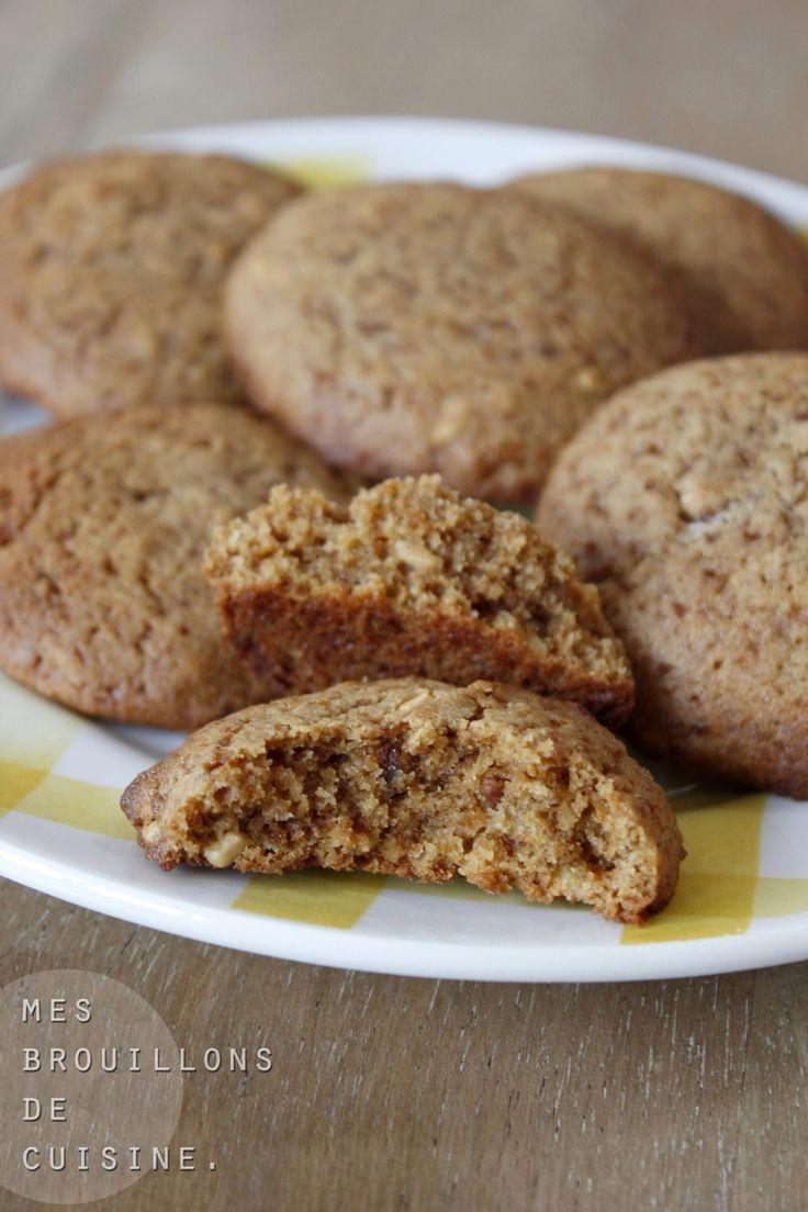 Biscuits moelleux au caramel beurre salé – Mes brouillons de cuisine