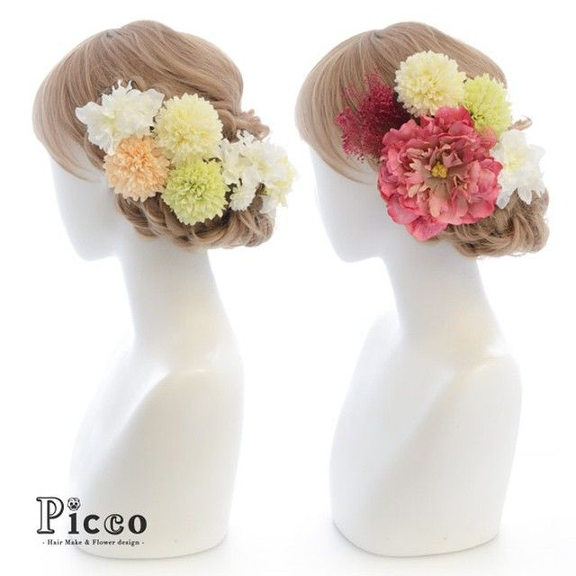 Gallery 132 Order Made Works Original Hair Accesory for WEDDING #byPicco #白無垢 からの #色打掛 は #パステル からの #ピンク #アクセント で。 #お色直し 対応 #オーダーメイド #和装 #オリジナル #髪飾り #花飾り #イベント #花嫁 #ブライダル #着物 #ピッコ #造花 #ヘアセット #アップスタイル #ウェディング #hairdo #flower #japanese #event #kimono