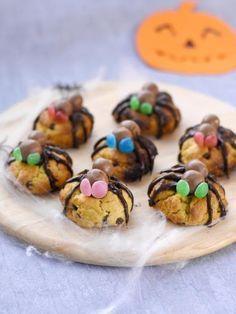 Cookie araignée : Recette de Cookie araignée - Marmiton