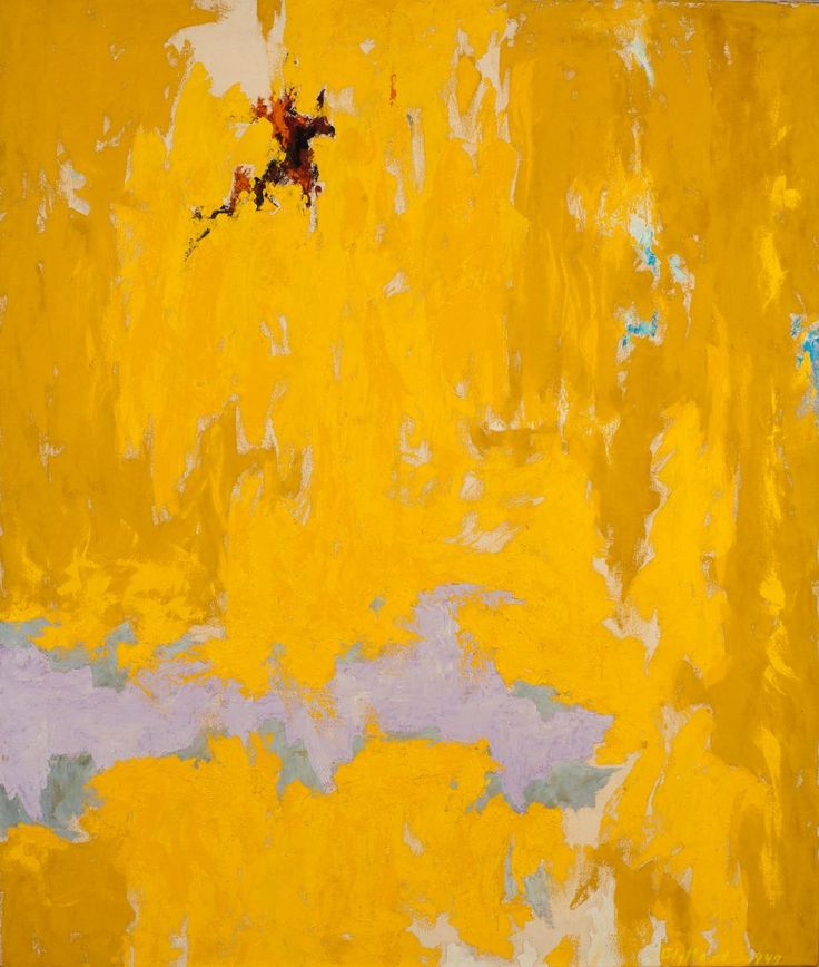 Clyfford Still (1904 – 1980) was an American painter, and one of the leading figures of Abstract Expressionism. Not the colour pallet I referring to although the process looks chipped Nd pealed