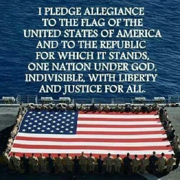 Image result for i pledge allegiance to the flag of united states of america