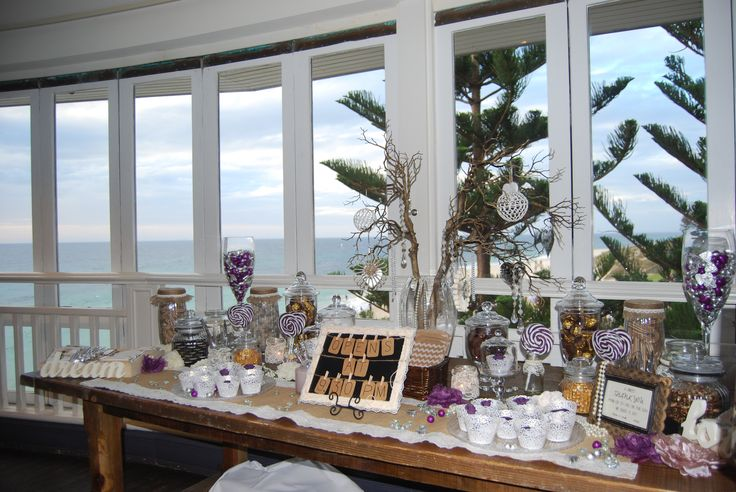 Lolly Buffet with a view