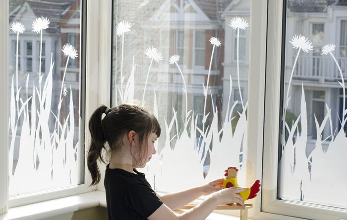 Beautiful frosted vinyl window graphics perfect for a little privacy!
