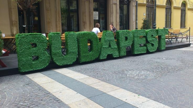 Ötkert in Budapest...