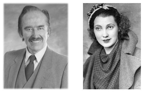 Donald Trump's father Frederick Christ Trump and mother Mary Anne MacLeod