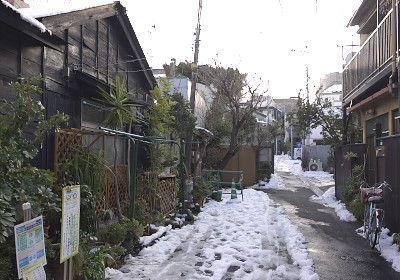 Zoshigaya, Toshima city, Tokyo 雑司が谷の路地裏