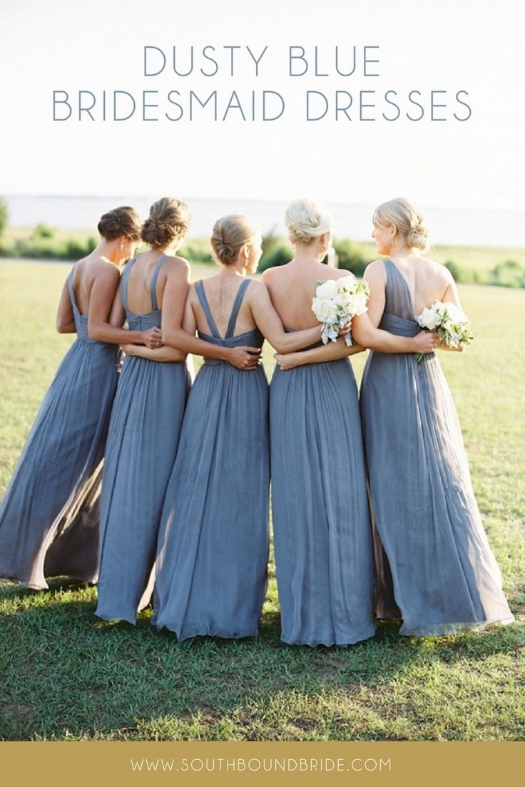 Best 25+ Dusty blue bridesmaid dresses ideas on Pinterest