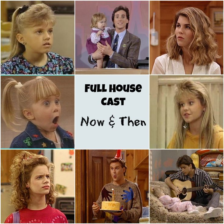 The full house cast then vs now see how they ve changed