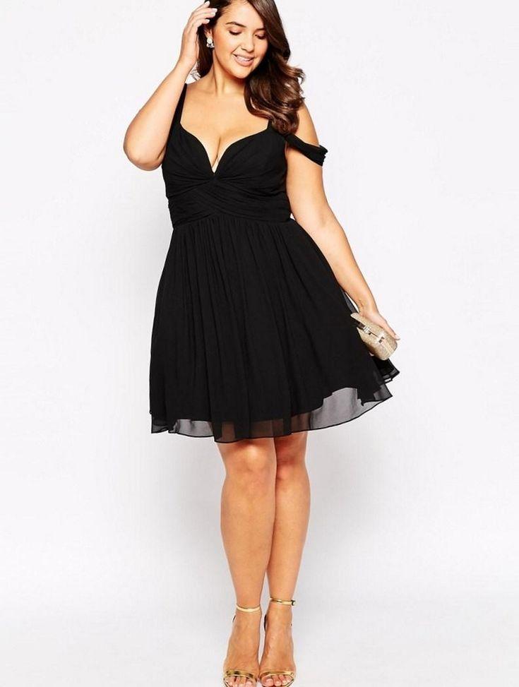 Gorgeous Elegant Black Dress Plus Size Ideas : 70 Outfit Style https://femaline.com/2017/07/03/gorgeous-elegant-black-dress-plus-size-ideas-70-outfit-style/