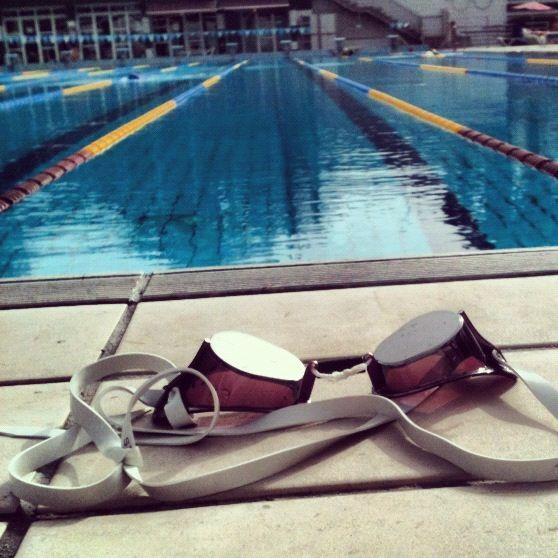 Haber ganado una competencia de natación... ¡Hecho!
