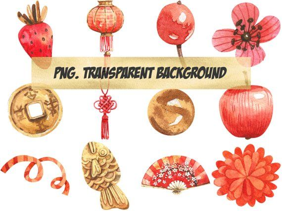 Png Clipart Total Cny Chinese New Year Accessory Decoration Red