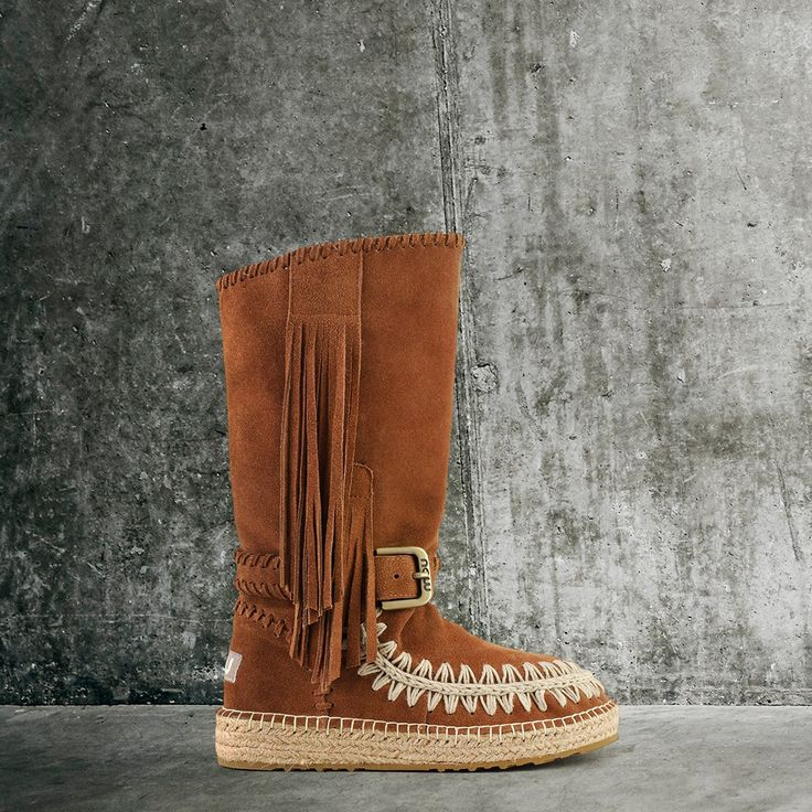Mou Indian boot in suede