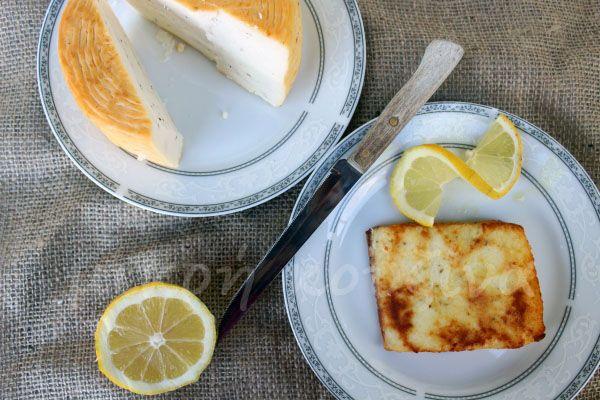 μικρή κουζίνα: Τυρί σαγανάκι
