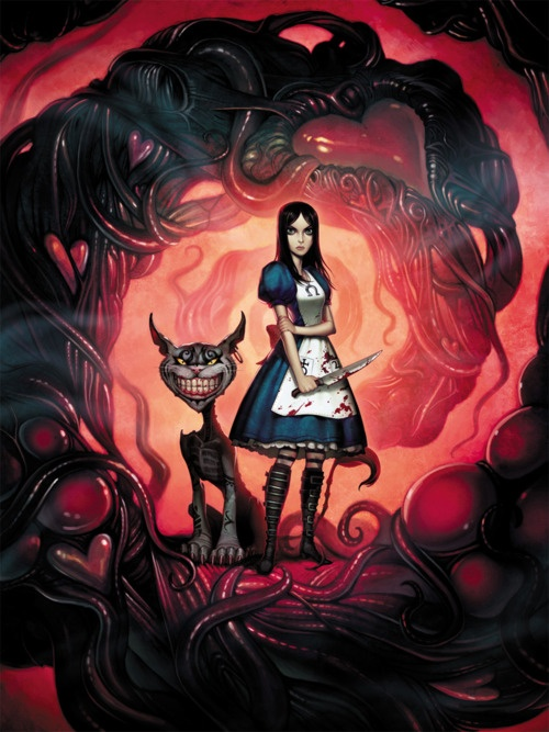 what if Alice in Wonderland really looked like this..