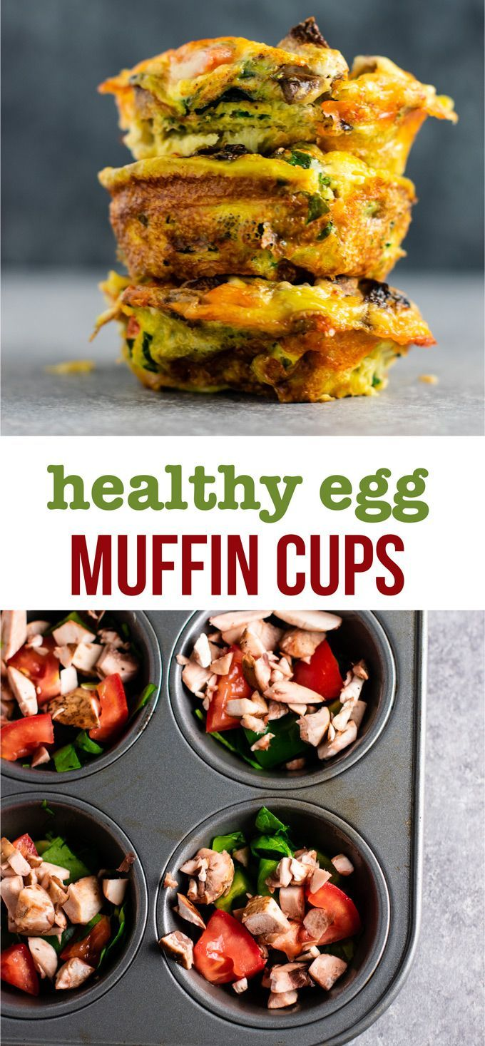 Egg Cups In Muffin Tin These Are Perfect For Meal