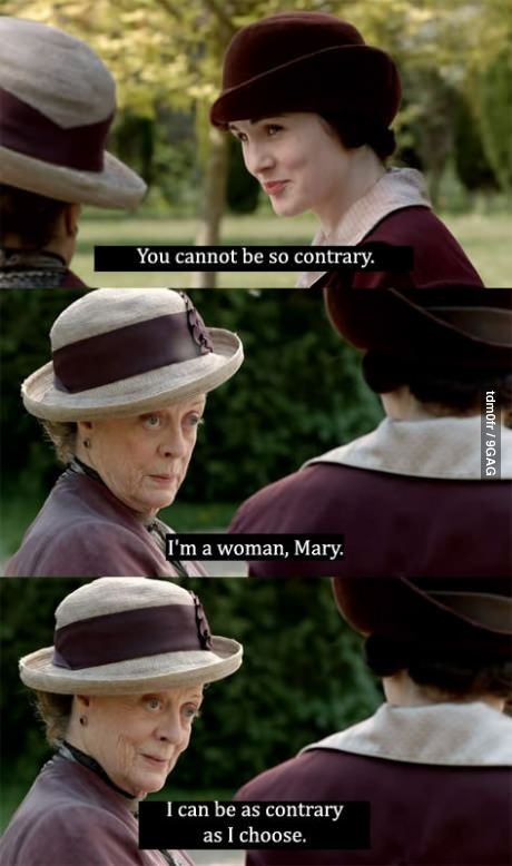 Maggie Smith finally said it out loud, Outstanding!