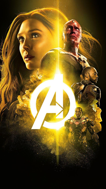 Avengers infinity war 2018 phone wallpaper marvel