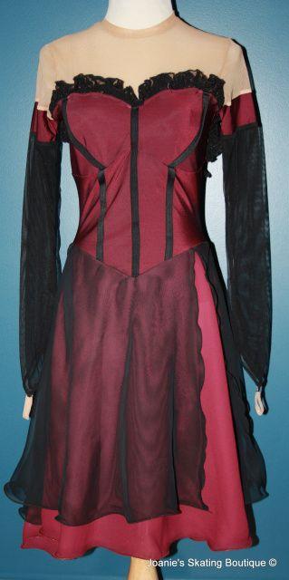 Skating Dress 1189 Adult Medium