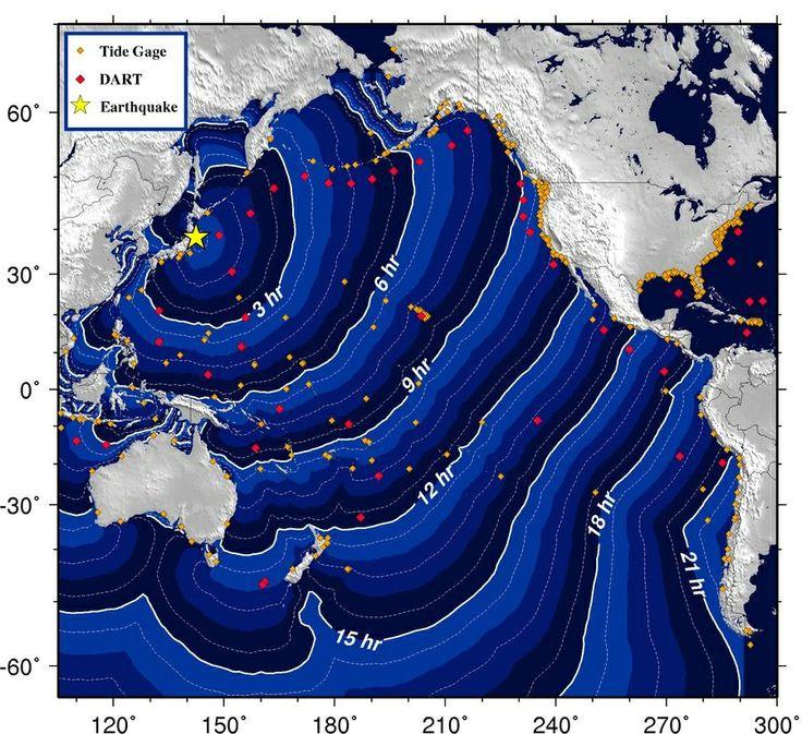 Japan Tsunami Diagram