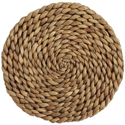 Braided Natural Placemat Pier One $14.98