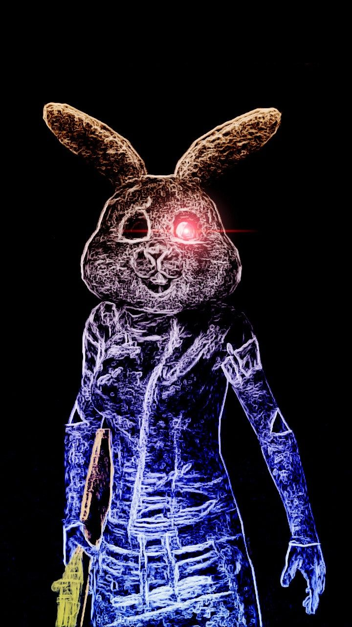 Pubg Mobile Wallpaper Neon Rabbit Pubgm