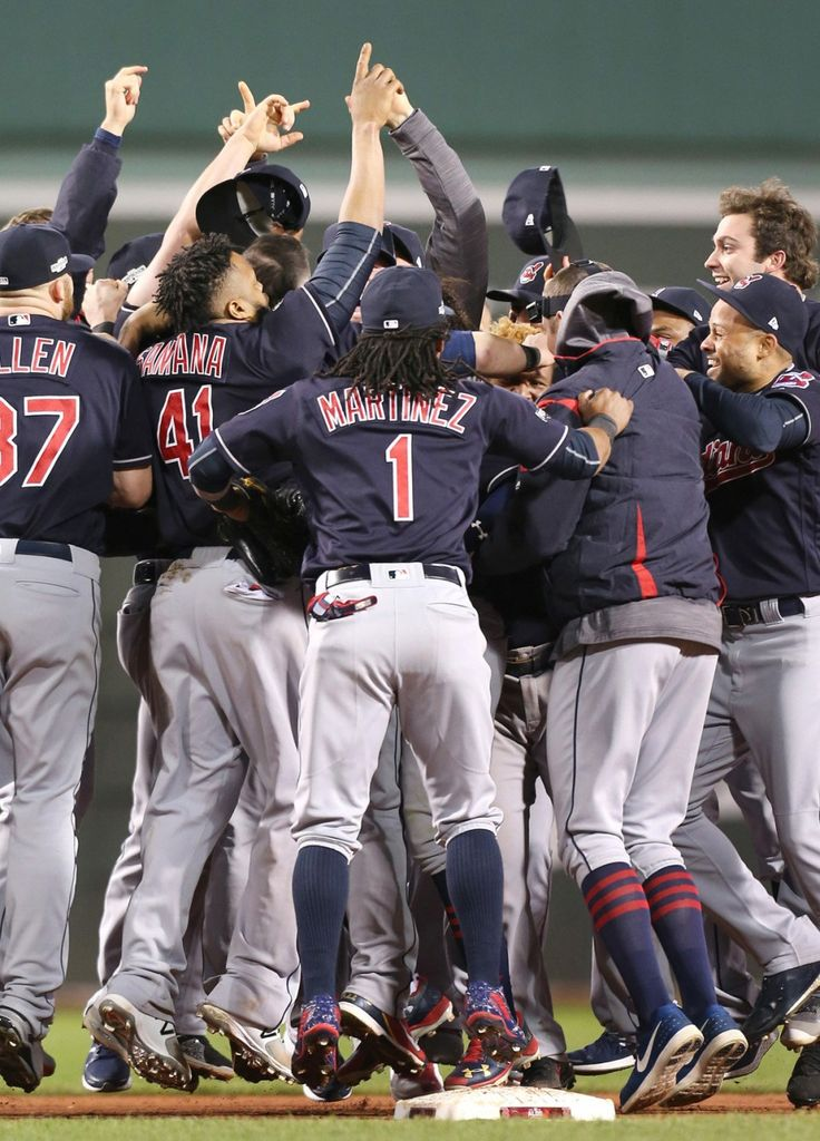 Cleveland Indians sweep Boston Red Sox to clinch ALDS; face Toronto in ALCS on Friday | cleveland.com
