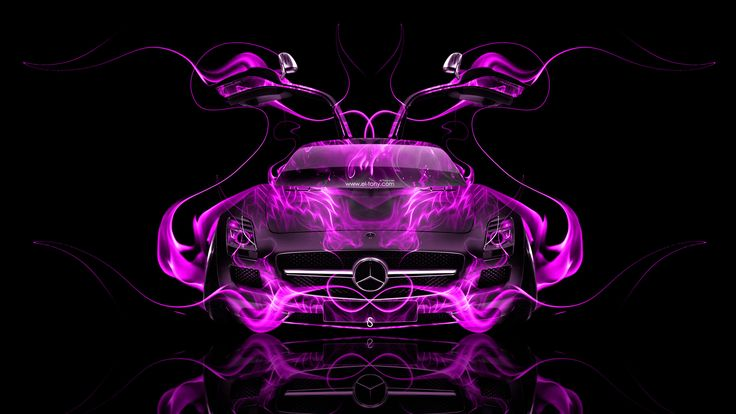 abstractmercedes amg a45 pink and black - Google Search