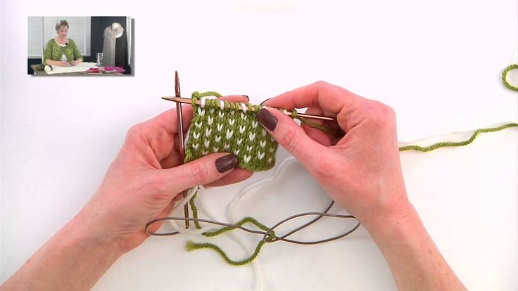 Knitting Help - Two Color Knitting Tricks Want to improve the speed and tension of your fair isle knitting? Here are a couple of tricks that I find useful.