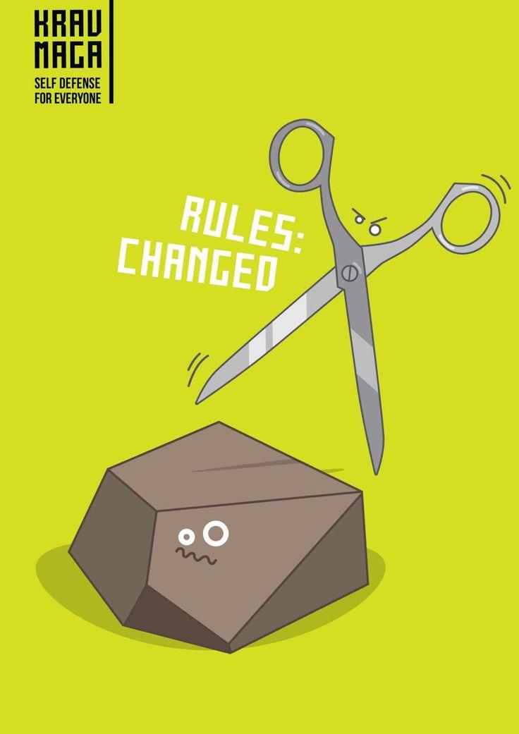 Krav Maga: The scissors