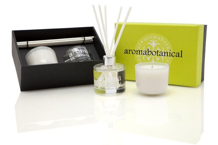 Lemongrass & Ginger Mini Gift Set #aromabotanical