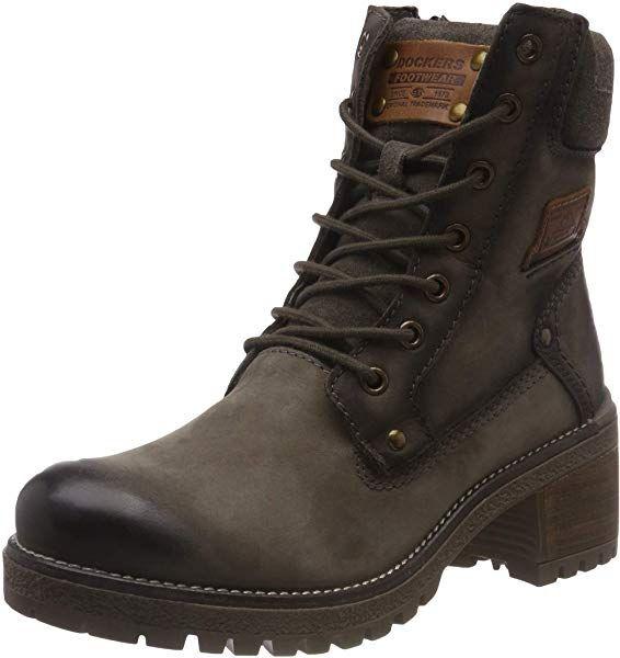 BootsBraunSchlamm Dockers 43LN201 Combat Gerli Damen by 0mnOvN8w