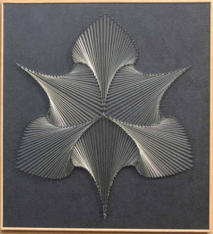 Handmade home decor (wall art) - string art paterns using copper
