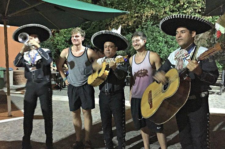 Mariachi Night during the Fall 2015 semester