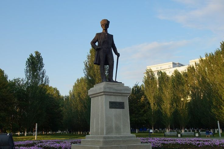 Mustafa Kemal Ataturk monument in Astana #astana