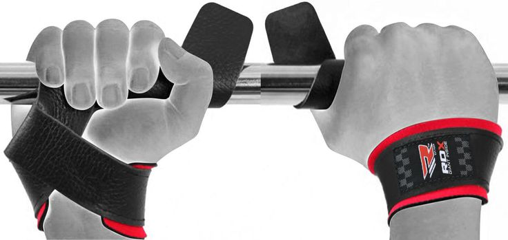 RDX WAN-L1B Deluxe Leather Weight Lifting Straps