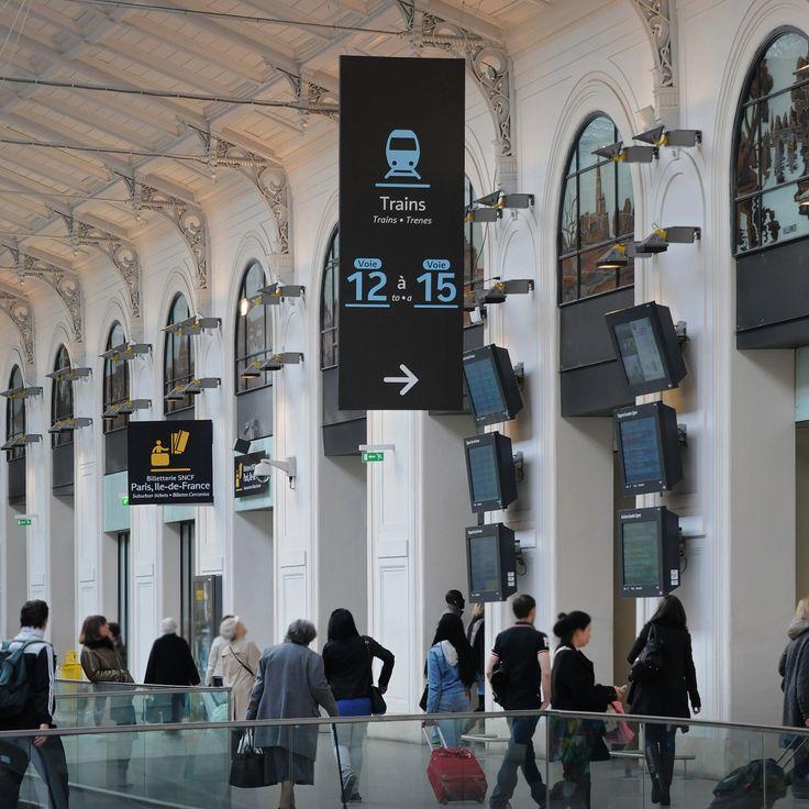 Gare SNCF de Paris Saint-Lazare à Paris, Île-de-France