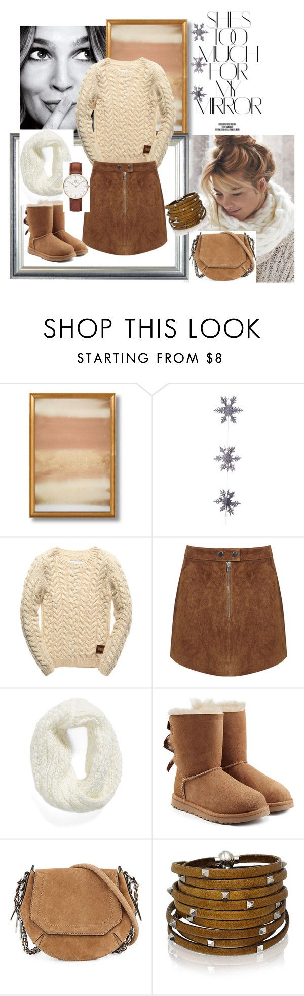 """Untitled #170"" by sanela-o on Polyvore featuring Rika, East of India, Superdry, Miss Selfridge, Collection XIIX, UGG Australia, rag & bone, Sif Jakobs Jewellery and Daniel Wellington"