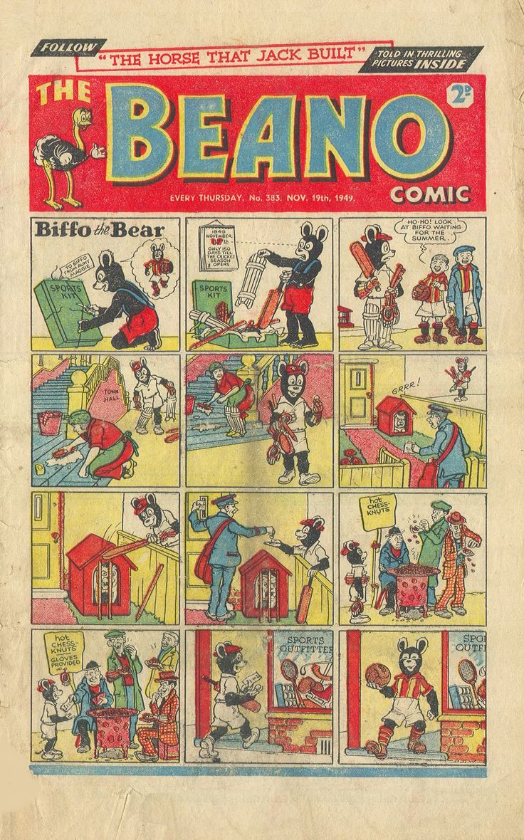 The Beano No.383 - 19th November 1949