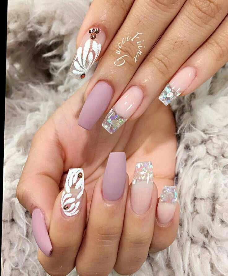 Nail art -- those white ones don't work, though.