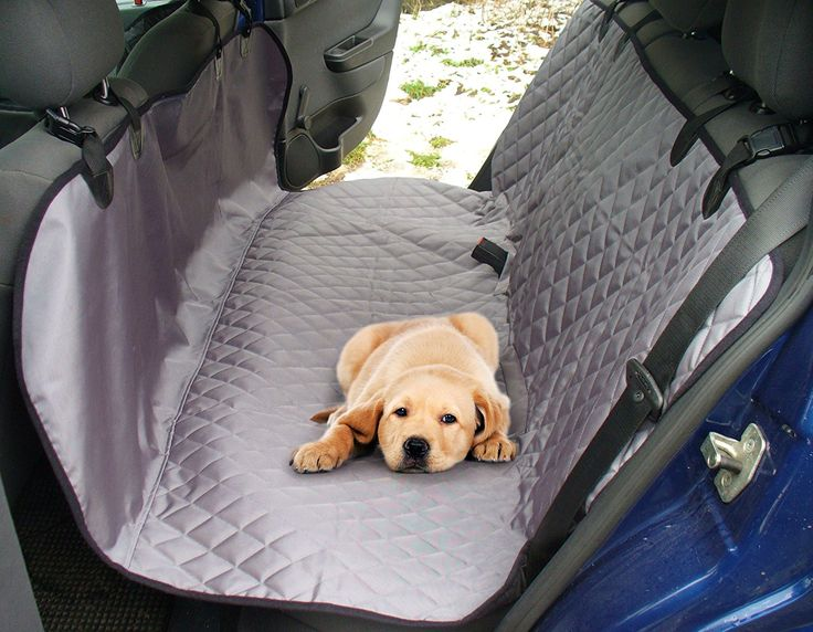 Pet Car Barrier Back Seat Cover For Cars Trucks SUV