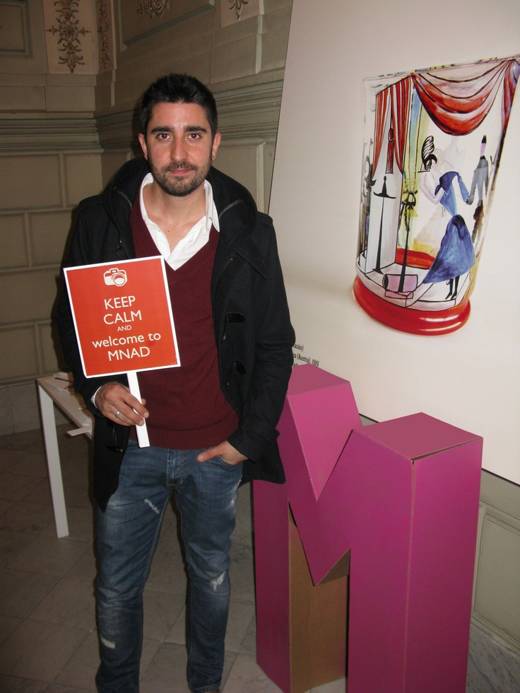 Alex Ubago in our  MNAD photobooth! Thanks!