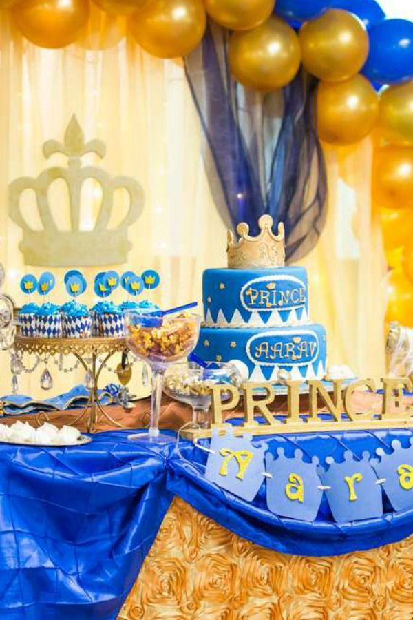 Your Little Boy Deserves Nothing Less Than A 1st Birthday Party Fit For A Prince So How About 1st Birthday Party Themes 1st Boy Birthday 1st Birthday Parties