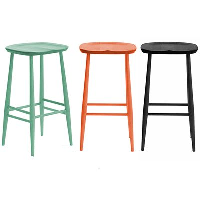 So love these Ercol barstools! no more wiping chrome bases!