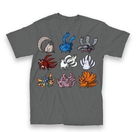 Very cool shirt---Naruto T-shirt: Tailed Beasts (Crunchyroll ...