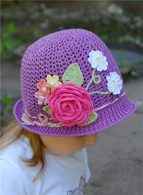 Free Crochet Pattern For Panama Hats : 77 best images about Crochet Inspirations on Pinterest ...