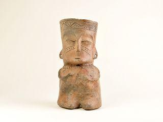 Figura antropomorfa, cultura El Molle, Norte Chico