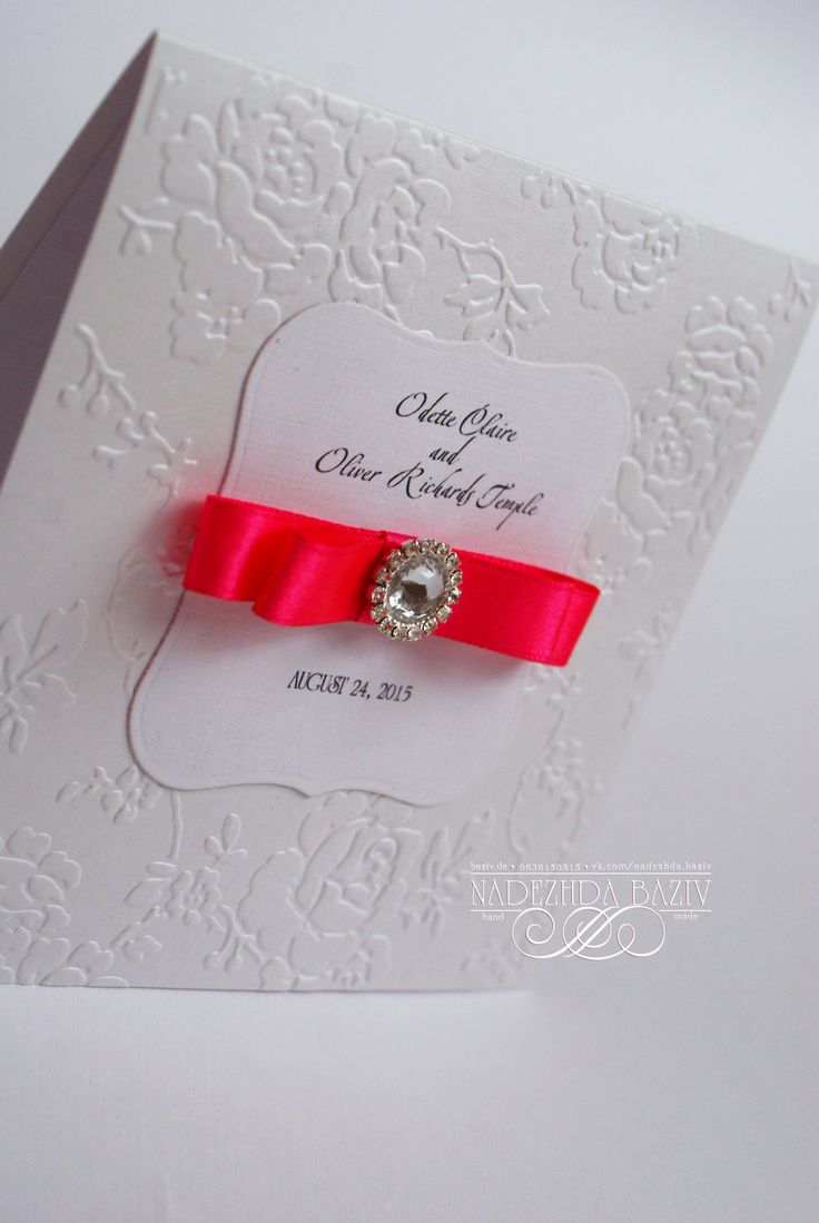Best 91 Handmade Wedding Invitations ideas on Pinterest | Diy ...