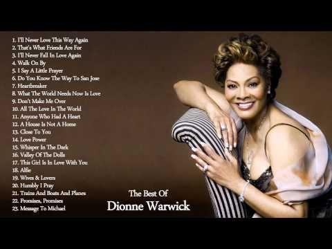 Dionne Warwick's Greatest Hits || The Best Of Dionne Warwick Escúchala por aquí youtube.com/c/SergioContrerasGuillén/live Para disfrutar
