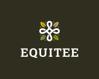 Equitee Logo Design | More logos http://blog.logoswish.com/category/logo-inspiration-gallery/ #logo #design #inspiration